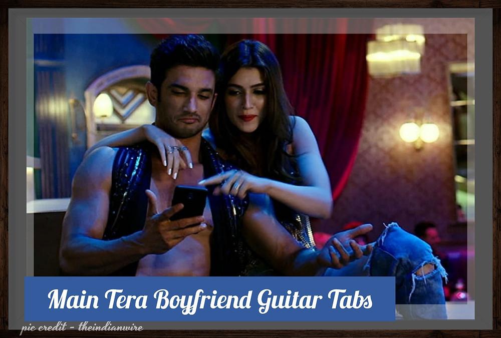 Main Tera Boyfriend Guitar Tabs