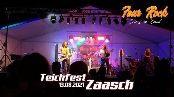Four Rock Band Teichfest Zaasch 2021