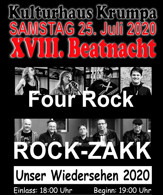 Four Rock 2020 Beatnacht Krumpa