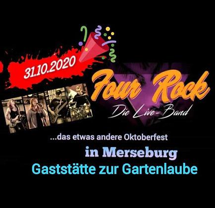 Four Rock Liveband Merseburg Gartenlaube Oktoberfest