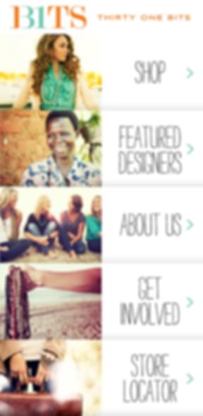 31Bits Mobile App Screens