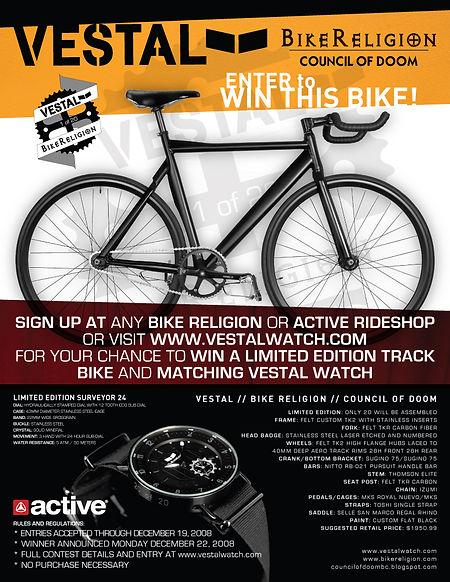 BR & Vestal Watch Collaboration