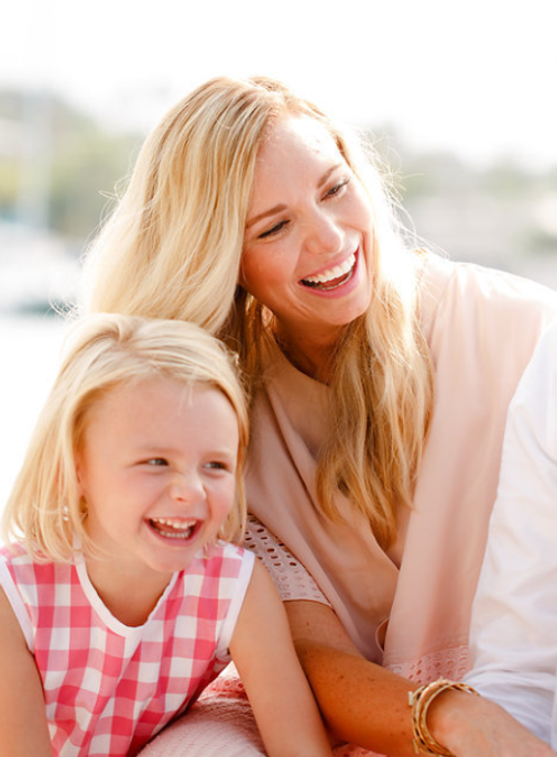 Dr. William Waite Orthodontics, Wife and daughter
