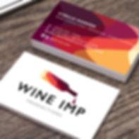 Wine Imp Logo & Business Card Design
