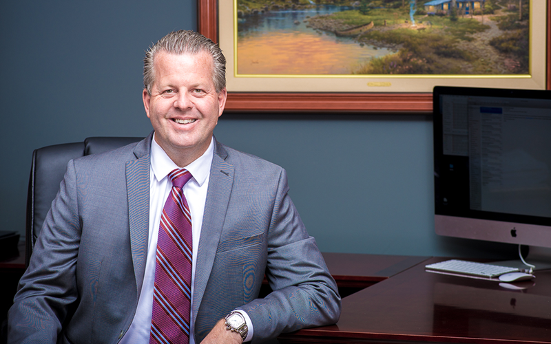 Leading Trial Lawyer Brad Kynpstra