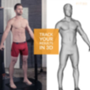 Track your Results - person plus 3d mode