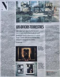 LOS OFICIOS TERRESTRES, Revista Ñ