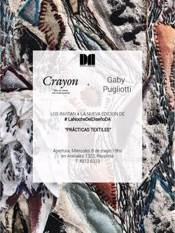 PRÁCTICAS TEXTILES en Galería Crayón - Mayo 2019
