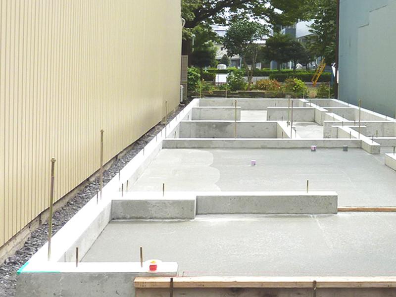 奥行き長い住宅設計 静岡市 注文住宅