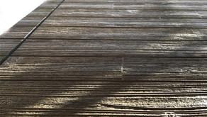 木目の風合いの外壁
