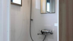 自由自在にサイズオーダーができるシャワーユニット