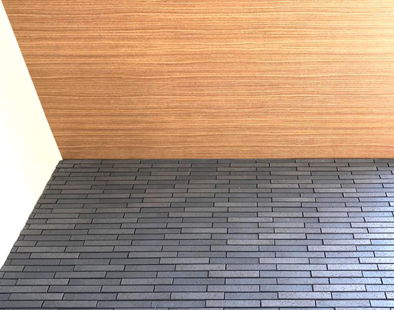 外壁タイル、はるかべ工法、静岡注文住宅