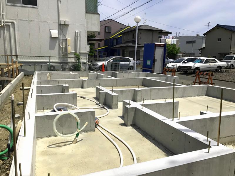 静岡の長期優良住宅仕様のベタ基礎の耐震性と耐久性