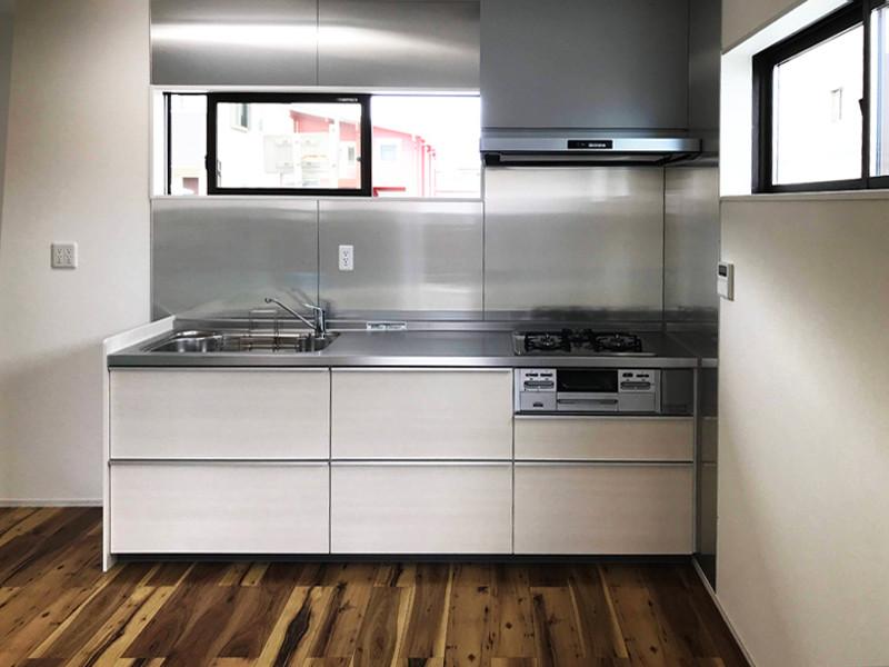 注文住宅 デザイナー住宅 収納力アップキッチン