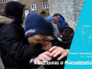 Kindertraining in Münchenbernsdorf