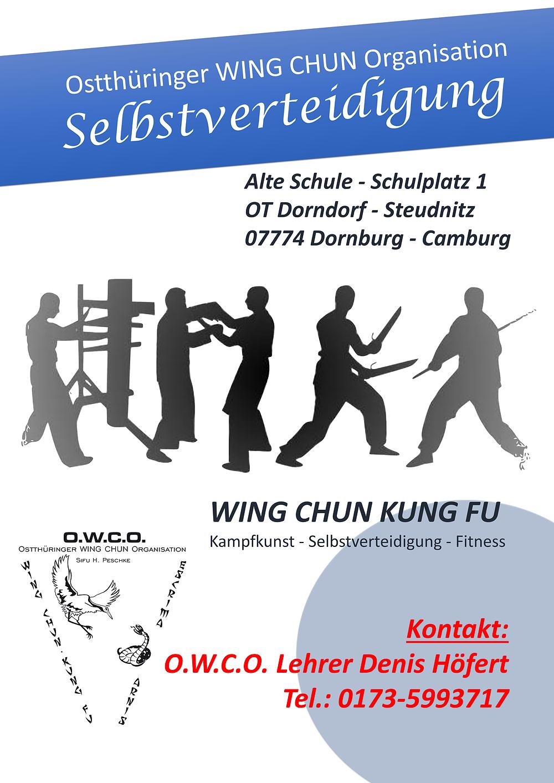 WING CHUN Dorndorf Steudnitz
