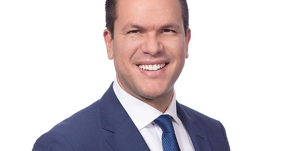 May | Guest Speaker Matt Bukhstaber - CBRE, commercial real estate firm