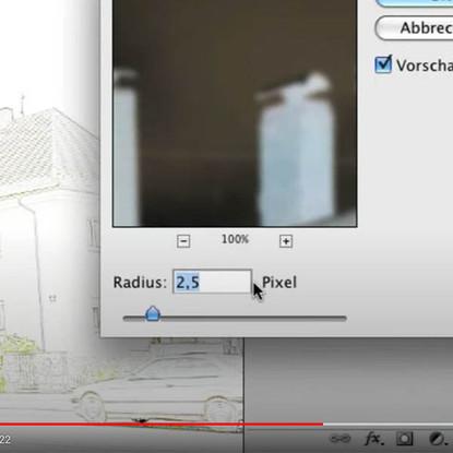 Tutorial: Farbbild in Bleistiftzeichnung umwandeln (Photoshop)