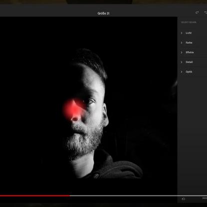 Tutorial: Lightroom CC (iPad) - Selektive Auswahl nutzen