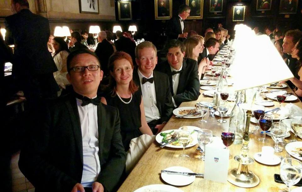 OXFORD COLLEGE DINNER
