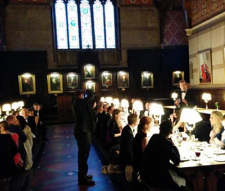 OXFORD REUNION COLLEGE DINNER