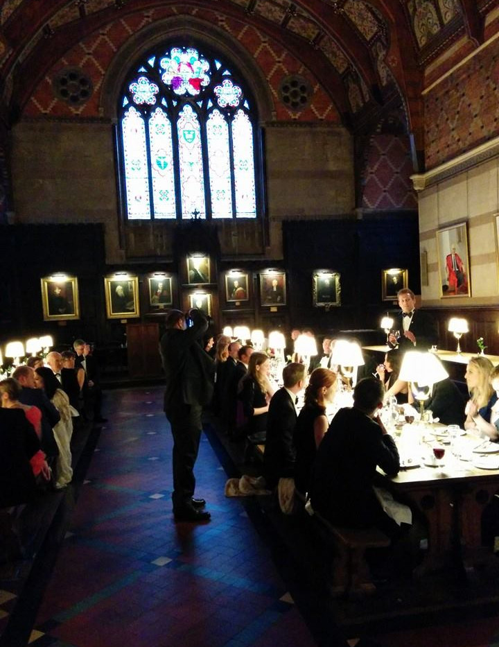 OXFORD REUNION COLLEGE DINNER