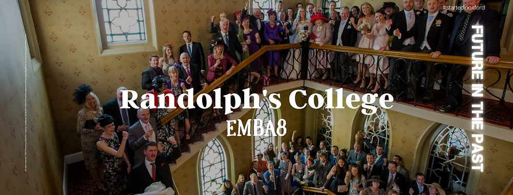 """Dear Randolph's College fellows! We started studying at Said Business School 10 years ago. Many of us still miss that time. This year we were deprived of the opportunity to see each other, and nobody knows what 2021 will bring. If we can't gather together in-person, let's gather together our precious rememberings to keep our community.  I propose a mini-campaign """"Future in the past"""" to gather together our collective vision of study in Oxford.  Each of us during our studies at Oxford probably took our photographs to preserve personal impressions of life and study. Let's make a general photo album, where we will post all our photos - how each of us saw Oxford during his life there while we studied together. Let's look at Oxford and learning through each other's eyes. I made a Randolph College page where you can upload our photos. I didn't find the old Randolph College logo, so I came up with a new one. Send me photos to post or post them on the page. Putting it all together and making one common album. I think the """"Future in the past"""" album will help us not to get bored if we do not see each other again this year due to some kind of quarantine, lockdowns, tsunami, zombie's attack, war with the creatures from outer space, aggressive crazy robots or something else that 10 years ago looked like science fiction. #oxfordbusinessalumni #startedinoxford #saidbusinessschool #randolphcollege #raevskayarepnina #livinginoxford"""