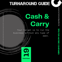 TURNAROUND GUIDE CLEVER CARD