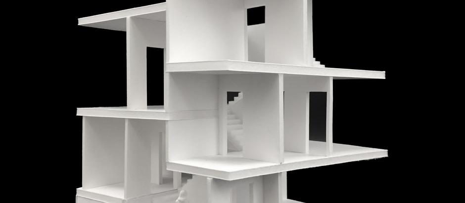 3D teikningar af húsinu, arkitektúr húsinss...
