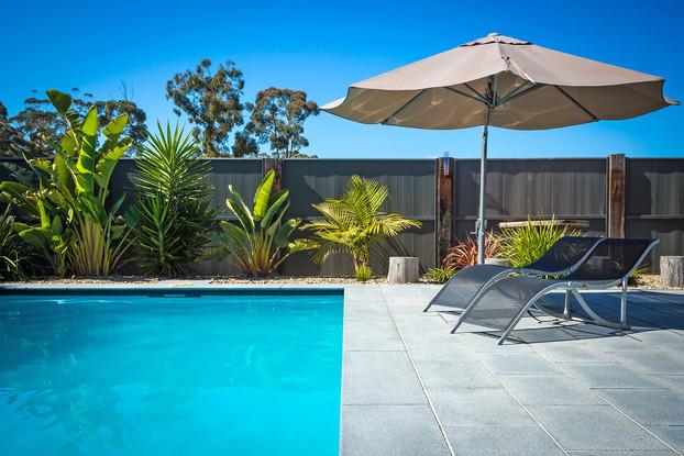 Beautiful swimming pool surrounds