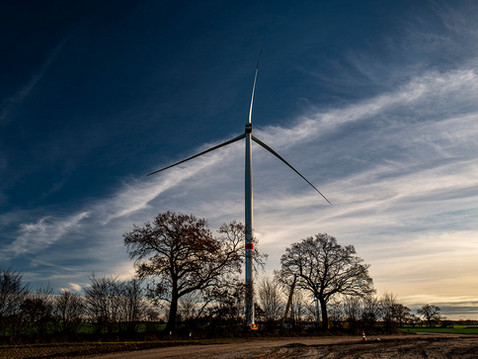 Wind farm Gross Niendorf
