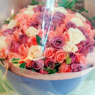 99玫瑰求婚花束