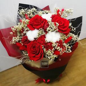 紅玫瑰保鮮花花束