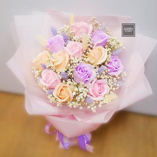 香皂花花束