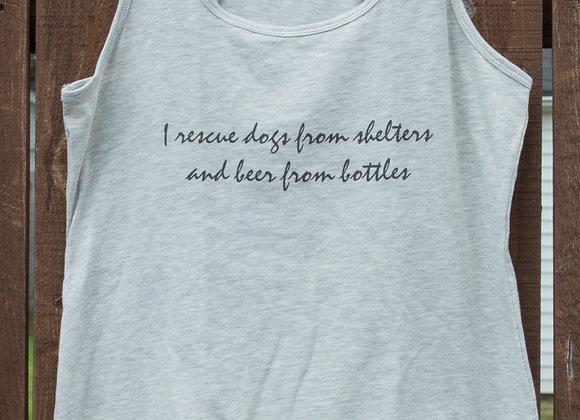 I Rescue Dogs & Beer Tank