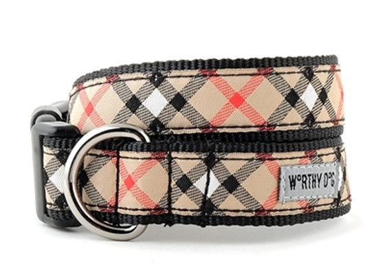 Bias Plaid Collar