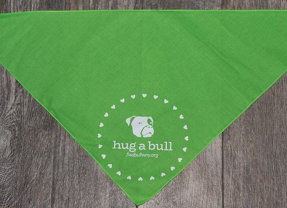 Fix A Bull Green (Hug A Bull) Bandana