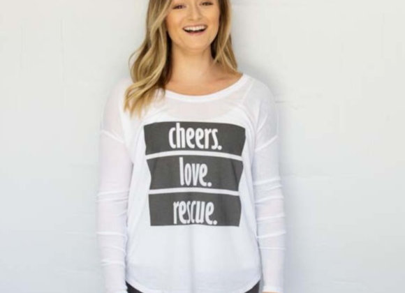 Cheers. Love. Rescue Long Sleeve