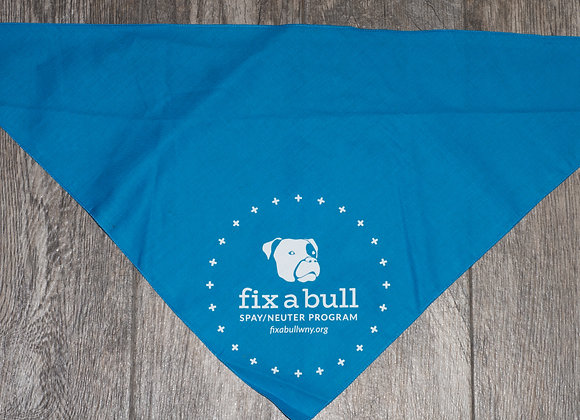 Fix A Bull Blue Bandana