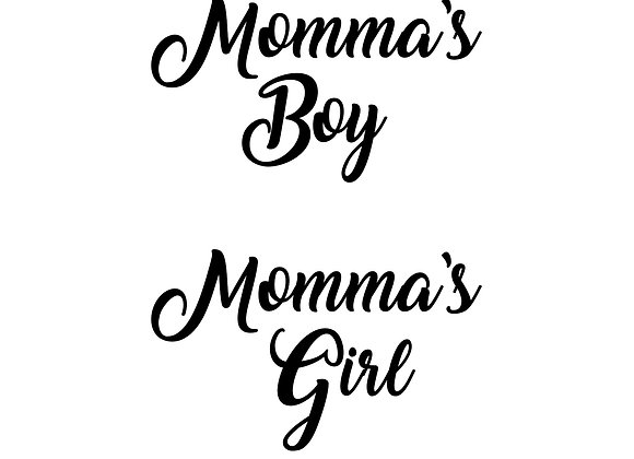 Momma's Boy/Momma's Girl