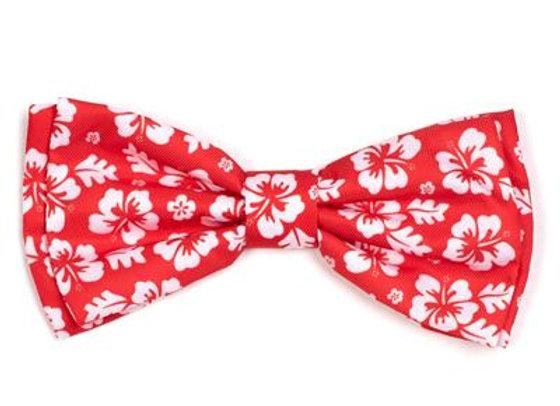 Aloha Flower Bow Tie