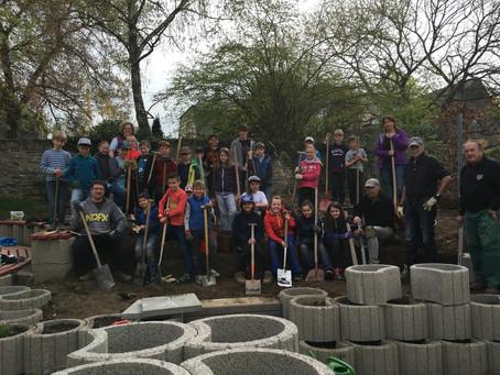 Projekt Schulgarten nimmt Form an