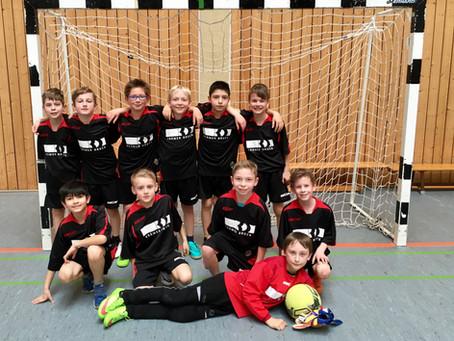 GS Mülheim landet beim Jungen Fußballturnier auf Platz 8!