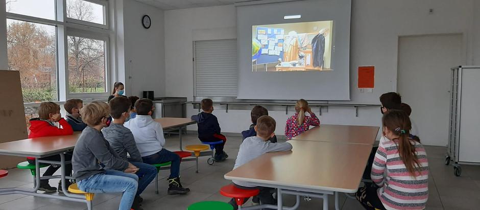 Der Nikolaus besucht die Kinder digital