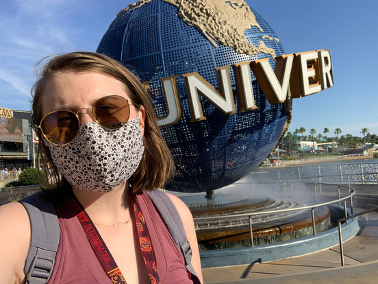 My First Time in a Theme Park in Over a YEAR - Universal Studios May 2021