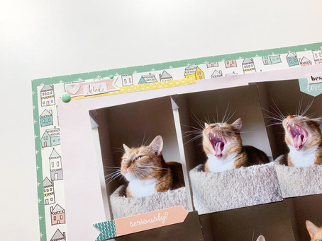 Phases of Lil - 12x12 Multi-Photo Layout Process | Summer of Stories