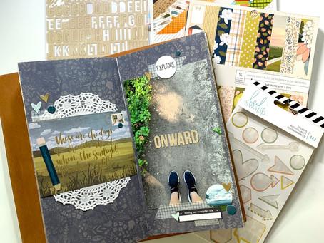 Traveler's Notebook Layout Share + Kill a Kit! // HTKAKWS June 2021