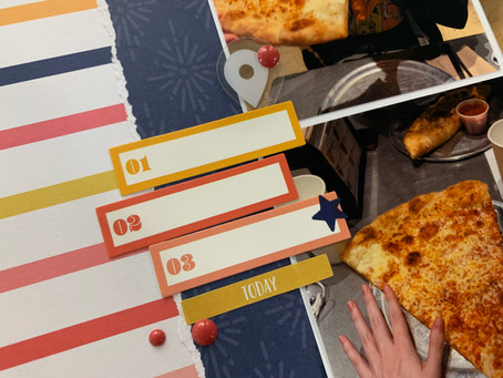 You Want a Pizza Me? - 12x12 Multi-Photo Layout Process | Summer of Stories