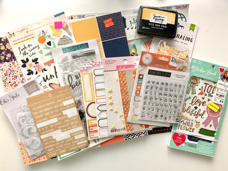 August 2021 Homemade Scrapbook Kit Share! // How to Kill a Kit with Style!