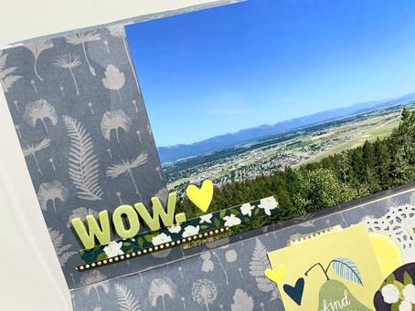 Wow. - Traveler's Notebook Process | Montana TN - Summer of Stories